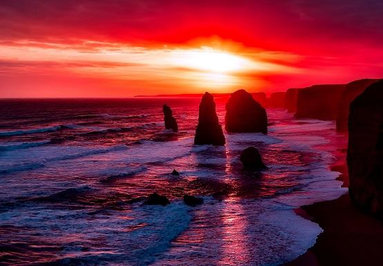De Twaalf Apostelen, Great Ocean Road, Australië