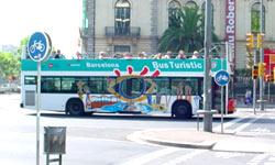 Bus turístic Barcelona.
