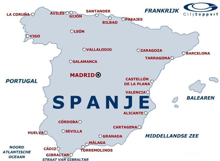 Vakantiewegwijzer Com Barcelona Kaart