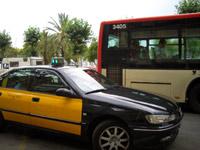 Website openbaar vervoer Barcelona