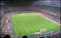 Nou Camp is te vinden in het noorden van Barcelona.