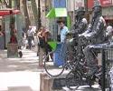Op de Ramblas zijn ontzettend veel straatartiesten te vinden. Bij een bezoek aan Barcelona moet je een keer over de Ramblas hebben gelopen.