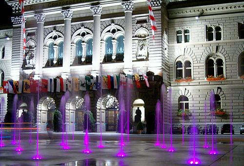 Het prachtige parlementsgebouw in Bern is een indrukwekkende bezienswaardigheid.