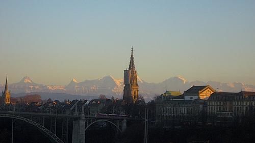 De Berner Münster is de gotische kathedraal van Bern.