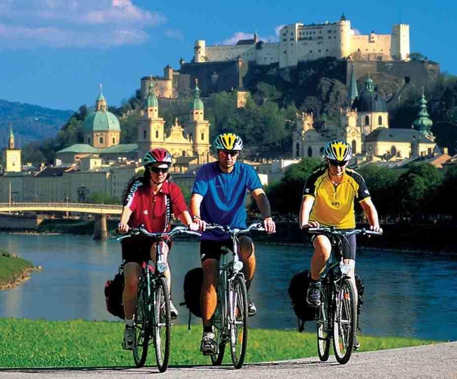 Met de fiets op vakantie
