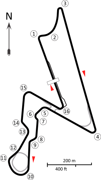 Buddh International Circuit - De Grand Prix van Greater Noida, India