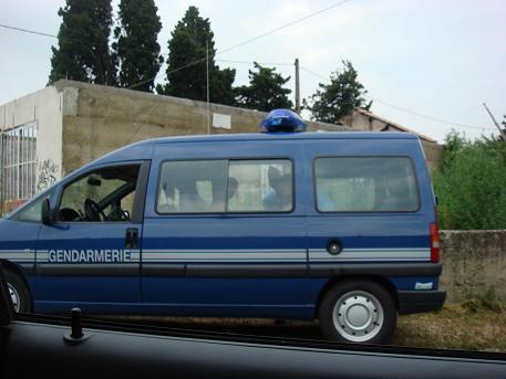 De Gendarmerie, de politie in Frankrijk