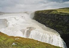 Gullfoss-waterval IJsland