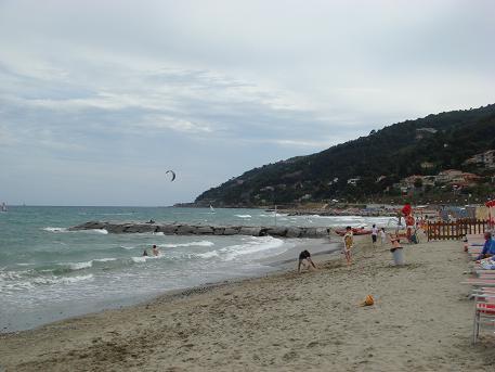 Middellandse Zee bij de kust van Italie