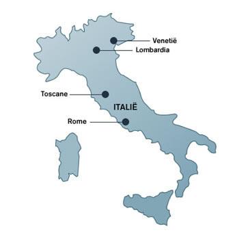 Vanwege de langgerekte vorm wordt Italië ook wel de laars genoemd