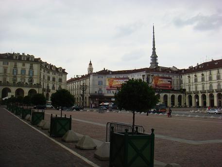 De Italiaanse stad Torino