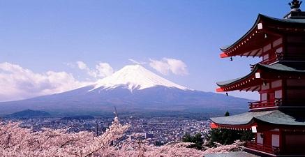 Landschap Japan