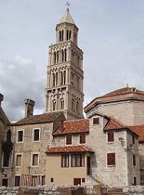Het historische centrum van Split, Kroatie