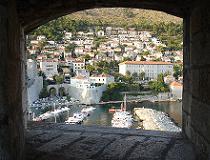 Een oude stad in Kroatie