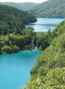 Plitvice Nationaal Park, Kroatie