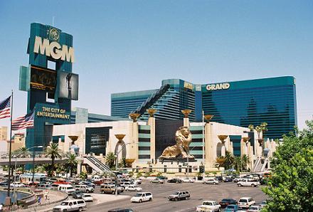 MGM Grand herbergt meer dan 3.500 gokkasten.
