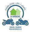 We zien u graag met de motor op het eerste trefpunt in Frankrijk verschijnen, bij motorhotel / camping La Mouche!