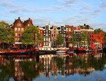 De Nederlandse hoofdstad Amsterdam