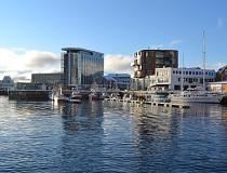 Thon hotell, Svolvaer, de Lofoten, Noorwegen