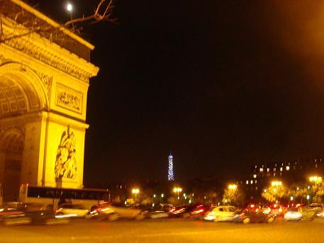 De Arc de Triomph in Parijs, Frankrijk