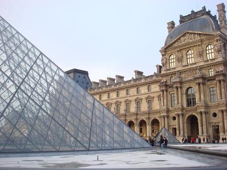 Het Louvre in Parijs, Frankrijk