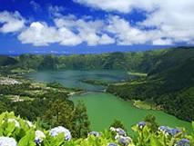 De eilandengroep de Azoren