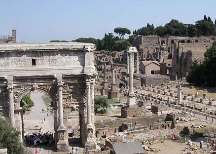 De Italiaanse stad Rome