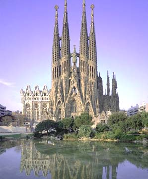Sagrada Familia Spanje