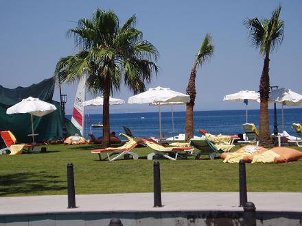 Alanya aan de kust van Turkije
