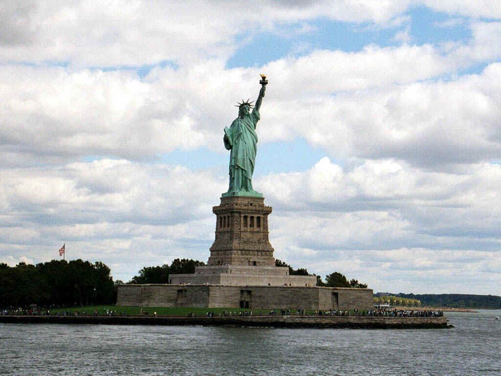 Het Vrijheidsbeeld, New York, Verenigde Staten