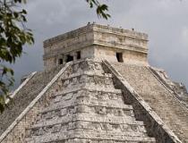 Kukulkán Pyramide, Chichén Itzá, Mexico