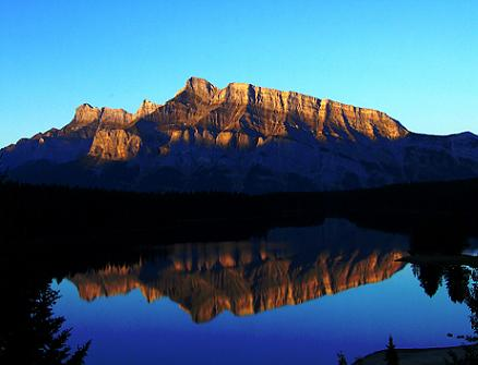 Morning at Two Jack Lake, Banff National Park, Canada