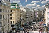 Graben Wenen, hier winkelen de trendsetters van Wenen