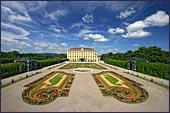 Het schonbrunn Paleis werd gebruikt als zomerresidentie door de keizer Franz Joseph.