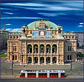 De Weense Staats Opera, met het Weense Philharmonisch Orkest, staat zeer hoog aangeschreven in de wereld.
