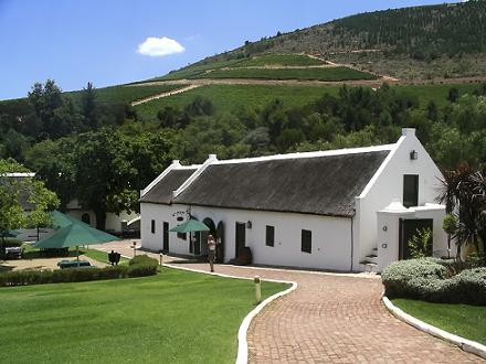 Morgenhof wine estate, Stellenbosch Zuid-Afrika